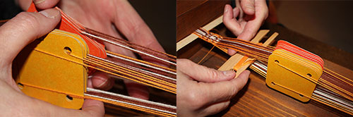 Tablet weaving process